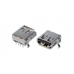 GNIAZDO USBS1ARB-LF
