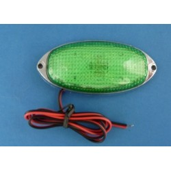LAMPA LED 12V GREEN 639LWK