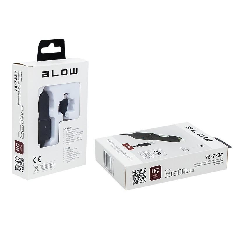 ŁADOWARKA USBmicro 2.1A 12-24V BLOW