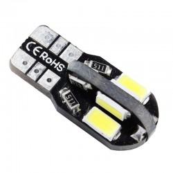 ŻAR/LED LED 12V W5W T10 0.7W ZIMNY