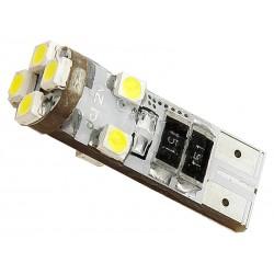 ŻAR/LED T10 W5W 8-SMD BIAŁY